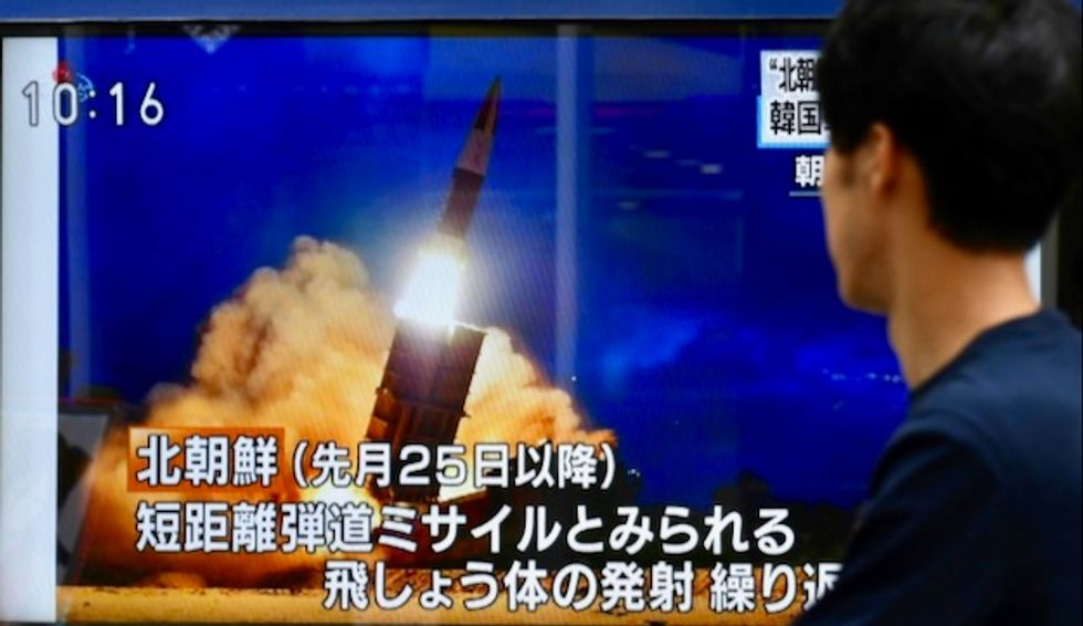 North Korea fires missiles, rejects further talks with South