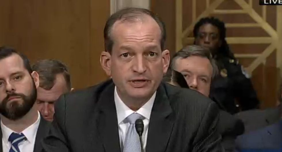 Bush admin official explains why Republicans are painfully silent about Alex Acosta's plea deal with Jeffrey Epstein