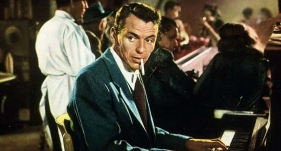 Frank Sinatra's films shattered the postwar myth of the white American male