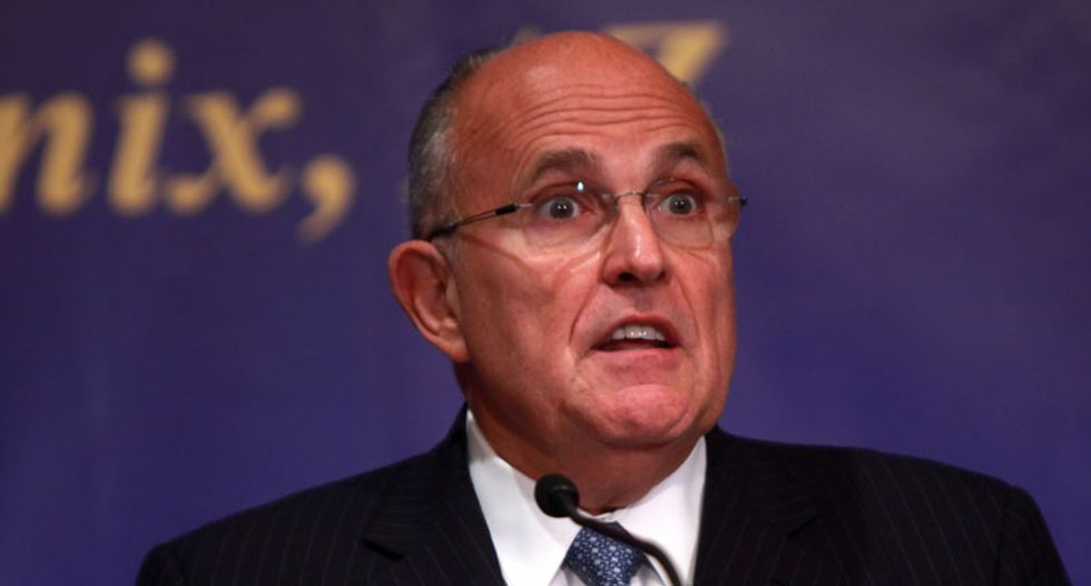 Rudy Giuliani accuses Mueller investigation of trying 'very, very hard to frame' Trump