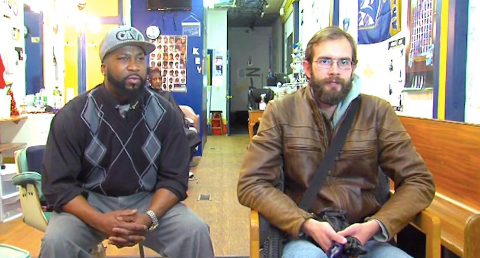 WATCH: Ohio gun nut oozes white privilege as he explains his 'right' to terrorize black neighborhood