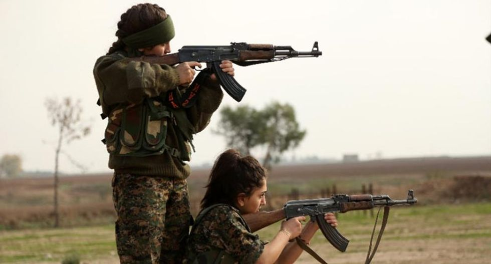 US military training dozens of Syrian fighters in new program