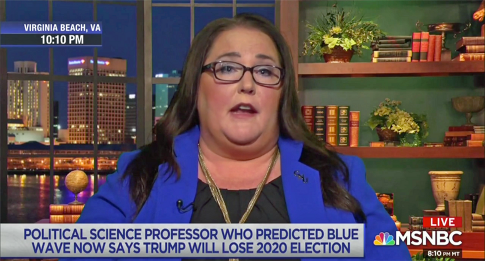 Scientist who correctly predicted 2018 midterms says Democrats can win 18 more seats in 2020