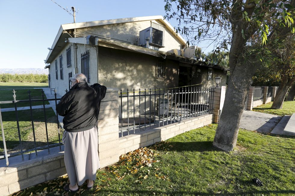 Man arrested in fire-bombing of California mosque after cops receive tip