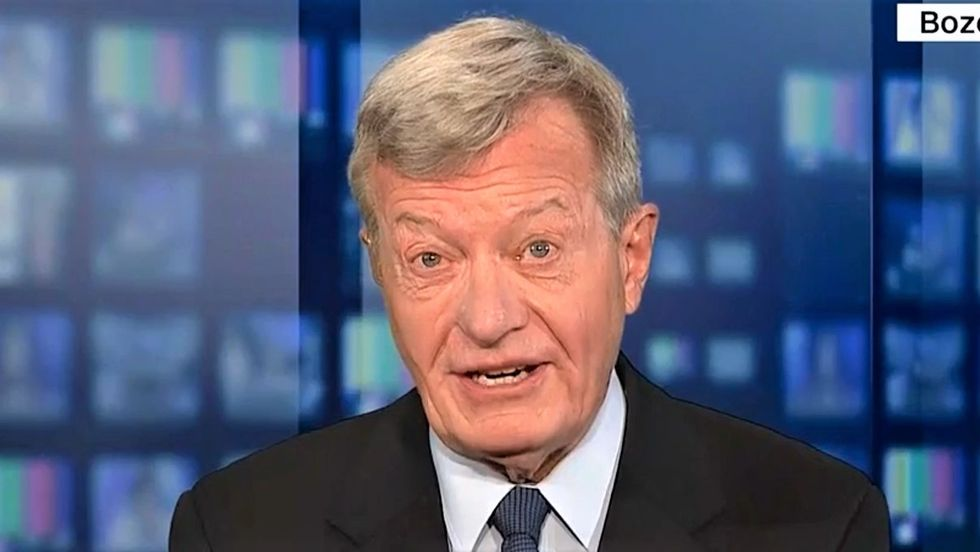 'They sense weakness': Former senator says the world is 'smirking' as Trump flails away at latest China tariffs