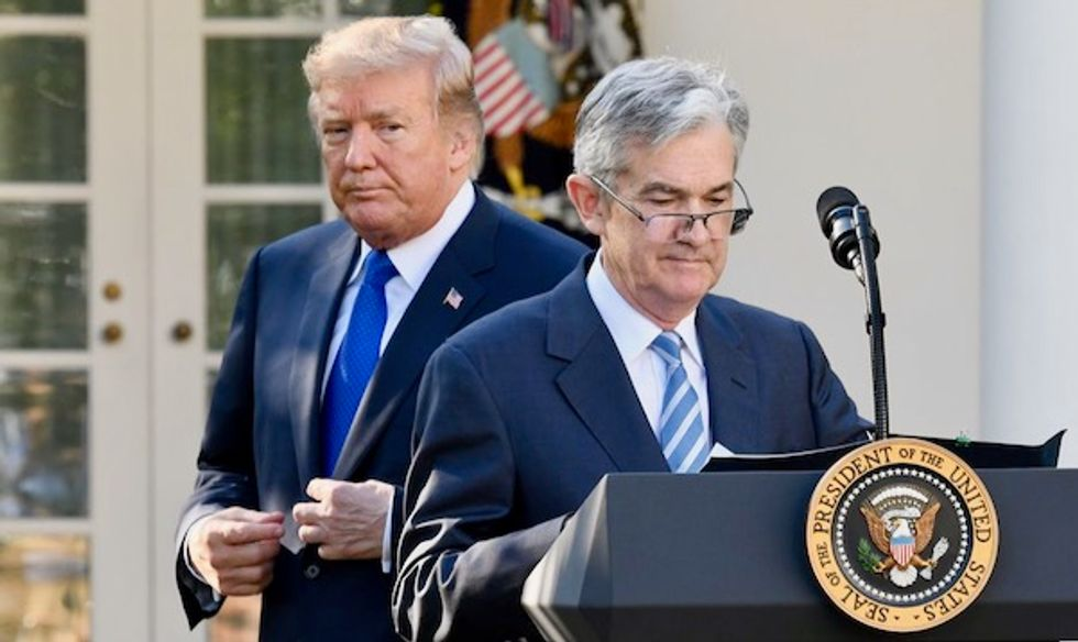 Trump comes publicly unglued again – rages at his own Fed chair for acting 'like a golfer who can't putt'