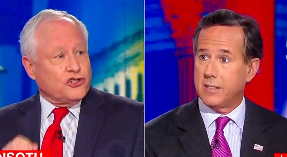 'That's total nonsense': Bill Kristol punches Santorum right between the eyes on Trump's failing trade policy