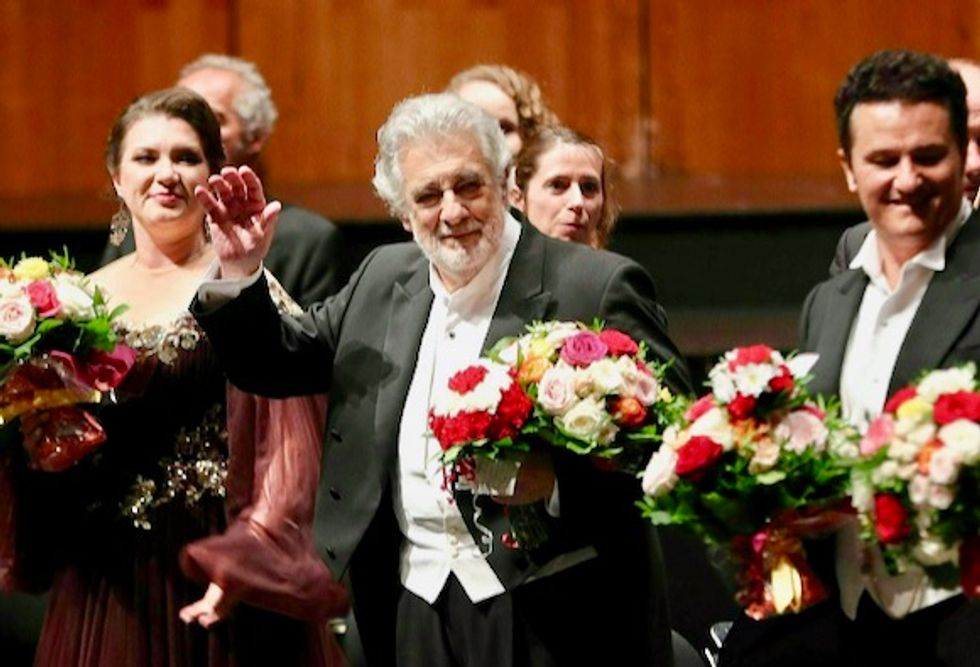 Placido Domingo gets standing ovation in Salzburg despite sexual harassment claims