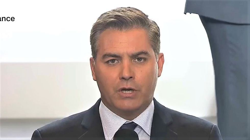 Jim Acosta calls out Trump for 'gaslighting' America about the anti-lockdown protests