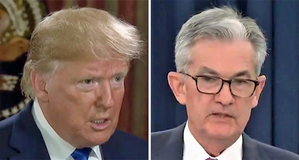 Here's one big reason why Trump is having a white-hot meltdown over the Fed not dropping interest rates