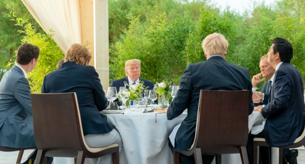 'They're all laughing at you': Trump ridiculed for claiming US economy is 'the talk of everyone' at G7