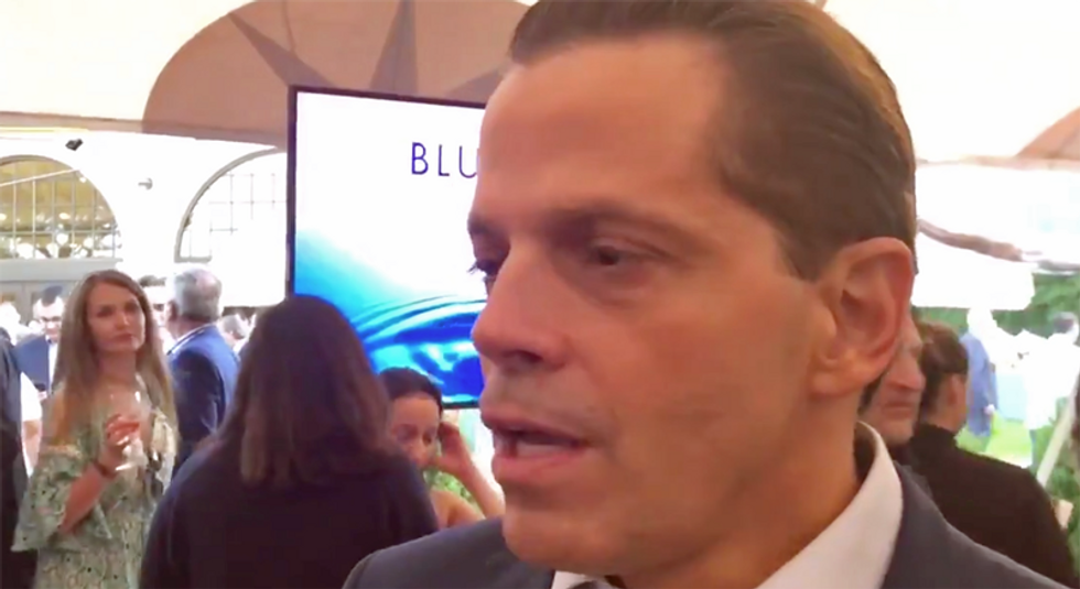 'The Mooch' attended Biden fundraiser in the Hamptons -- because Trump 'has lost his mind'