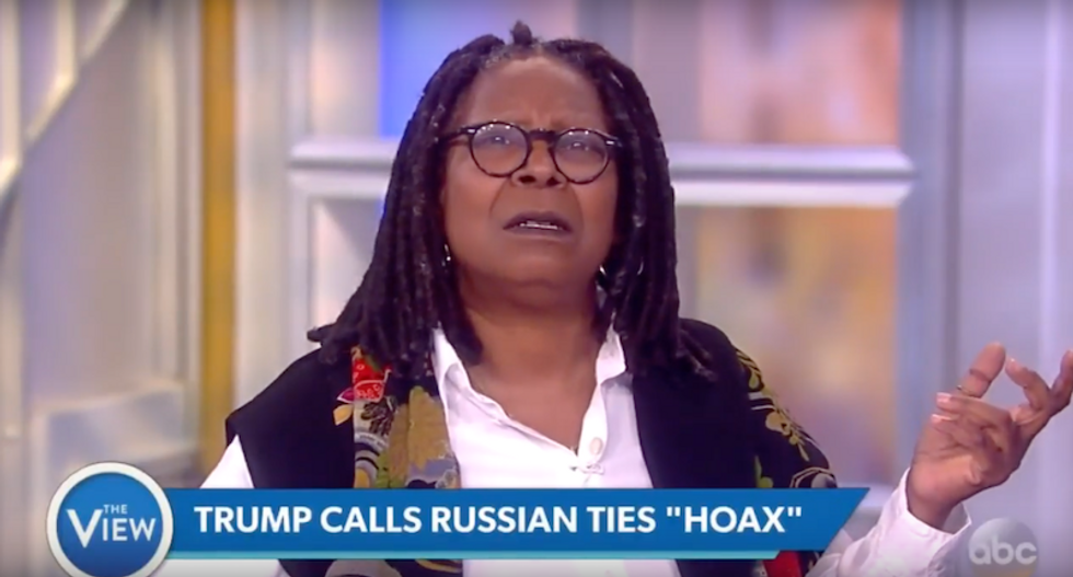 Whoopi Goldberg blasts Fox News' silence on Trump-Russia: 'Why isn't Fox screaming about this?'
