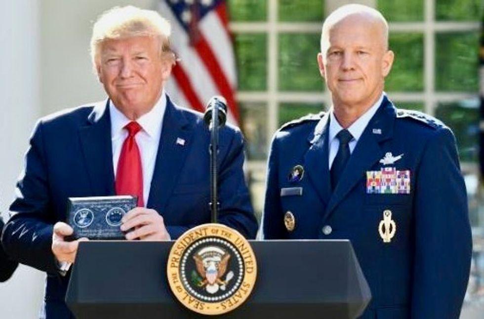 Trump launches new Pentagon command for space warfare