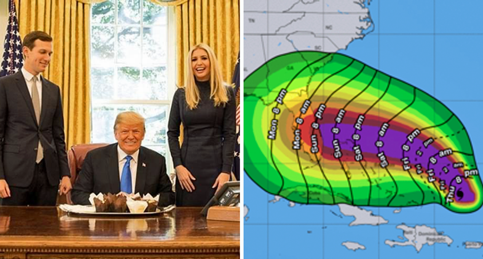 Trump tries to reassure Florida about 'absolute monster' Hurricane Dorian: 'We have the best people'