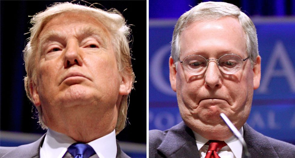 Mitch McConnell's decision to orchestrate Trump's impeachment defense will blow up in his face: columnist