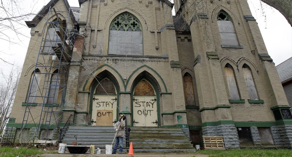 Churches in America are being transformed into mosques, Buddhist temples, and breweries as Christianity declines