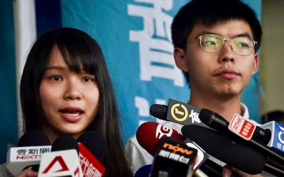 Hong Kong activists released on bail