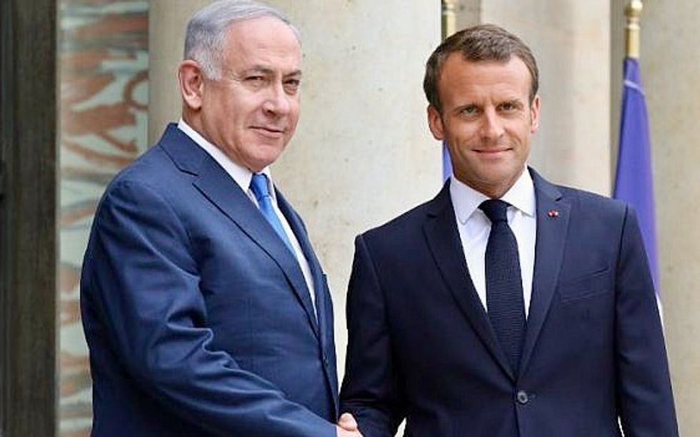 Netanyahu tells Macron 'wrong time' for talks with Iran