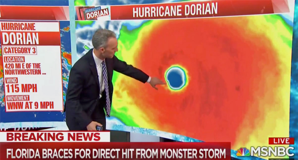 Hurricane Dorian is likely already Category 4 — and 'has a good change of going Cat 5': Meteorologist