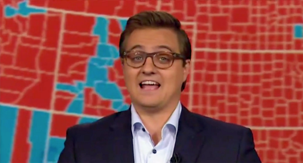 Watch Chris Hayes' epic takedown of GOP congressman fighting to maintain minority rule in America