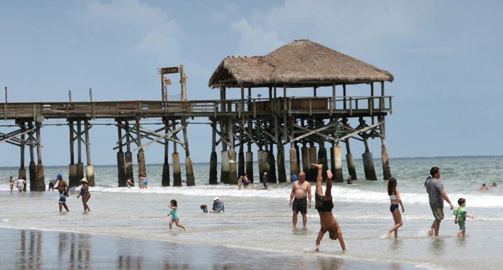 Bahamas and Florida bracing for 'extremely dangerous' Hurricane Dorian