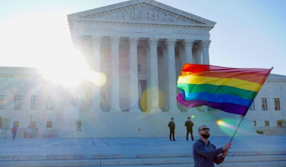 Over 50 House and Senate Republicans urge Supreme Court to rule that discriminating against LGBT people is legal