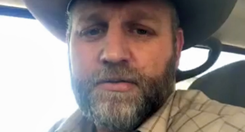 Ammon Bundy leads 'largely maskless' Tiki torch march on Boise mayor's home: report