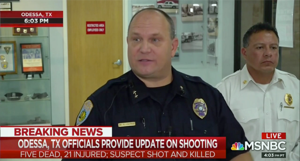 'Horrific day for Odessa': Authorities brief the public on latest mass shooting in Texas