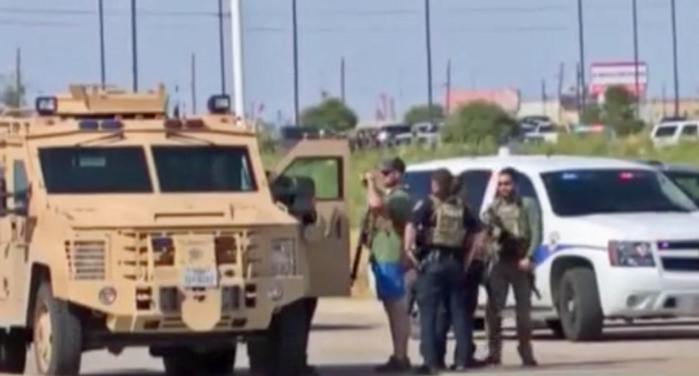 'I just kept the camera rolling': Witness describes taking graphic video of Texas massacre