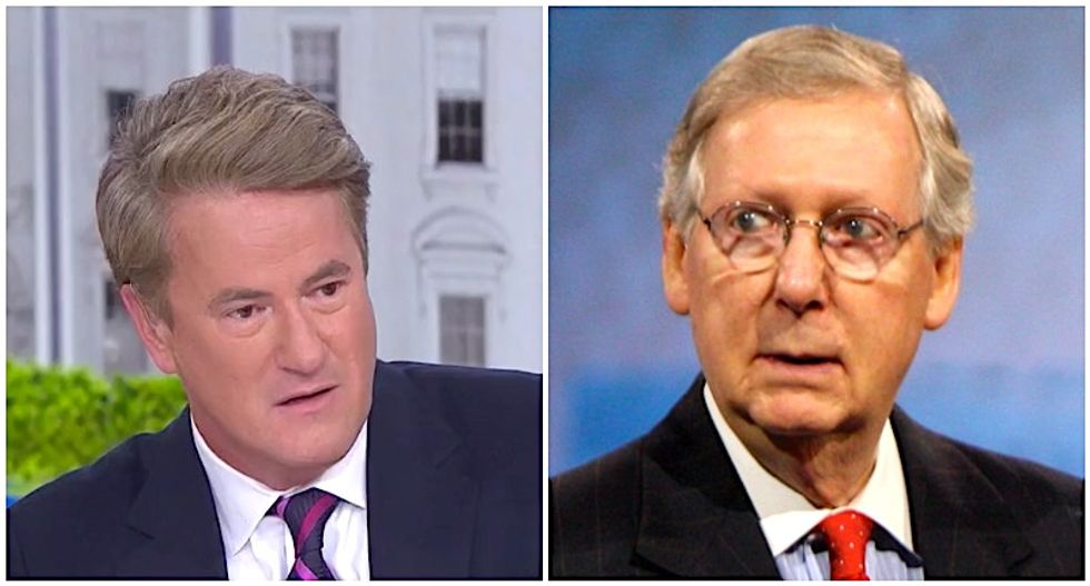 MSNBC's Morning Joe can't wait for Democrats to throw McConnell's words back in his face