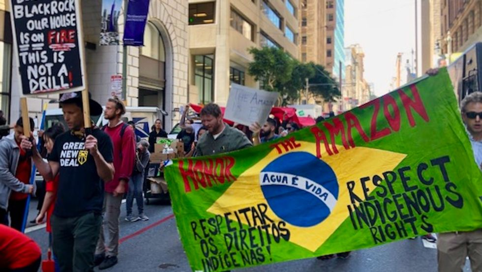 'Getting angry on social media not enough': Thousands across 6 continents mobilize to combat destruction of Amazon Rainforest