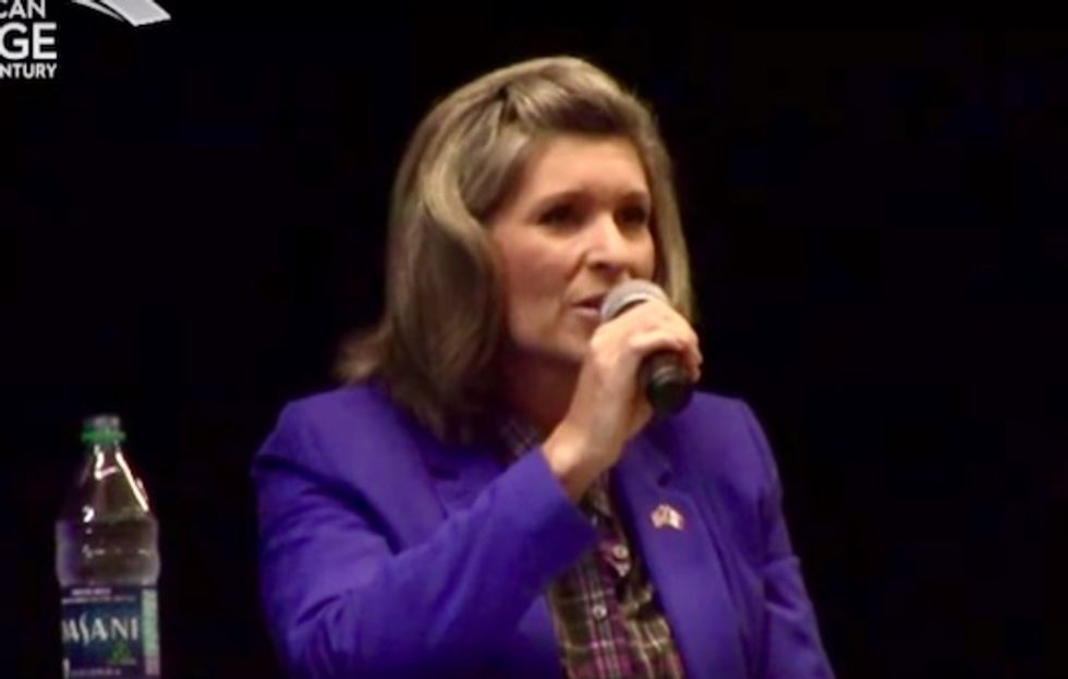 Hell no, Joni! say progressives, after GOP Sen. Ernst suggests cutting Social Security 'behind closed doors'