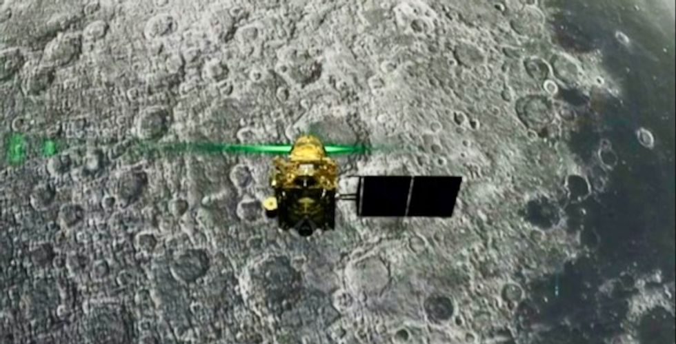 '15 minutes of terror': India loses contact with Moon lander