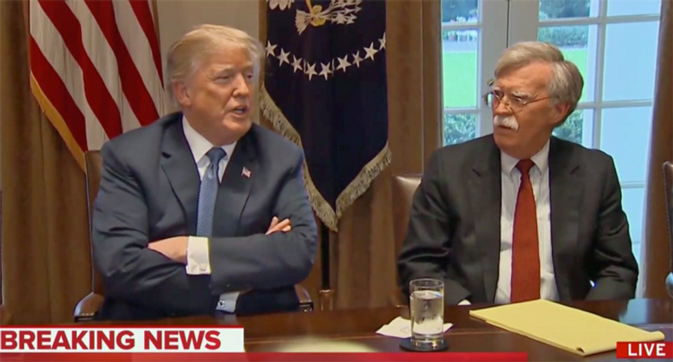 Is Trump aiming for talks with Iran after chucking John Bolton to the curb?