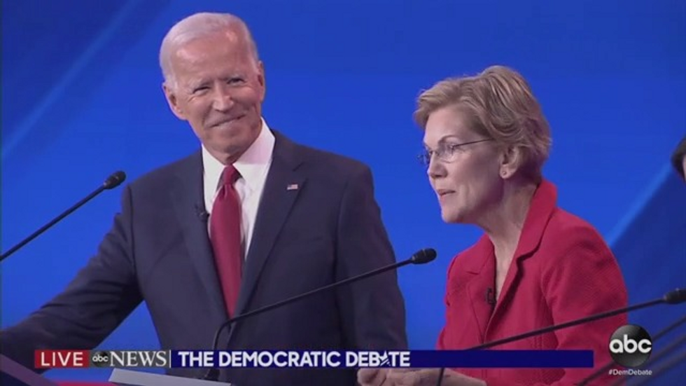 Elizabeth Warren: 'I'm proud to endorse Joe Biden'