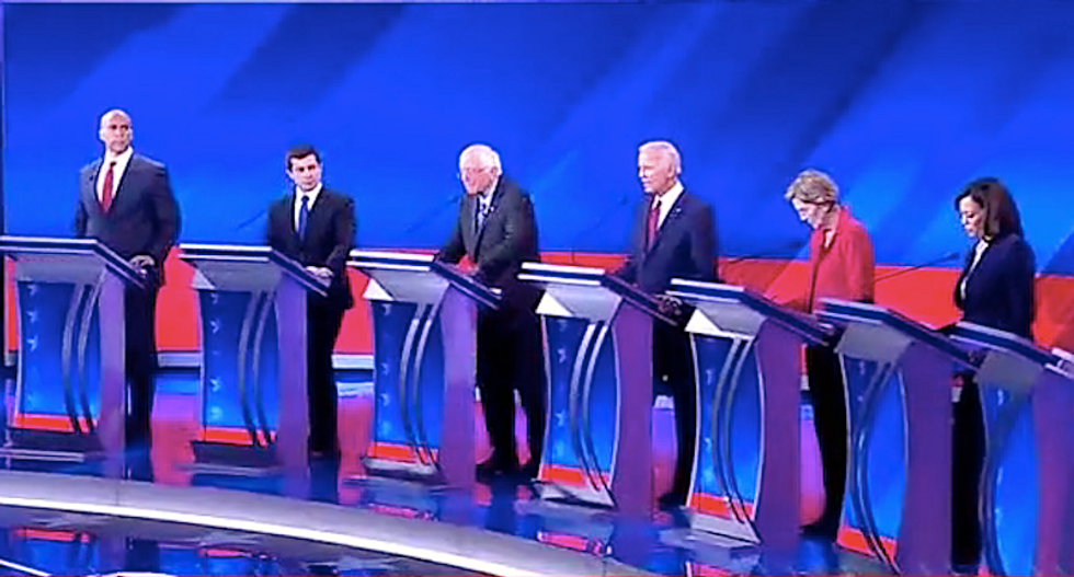 We just witnessed 'one of the most explicitly racist moments of all time in a Democratic debate': author