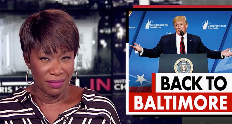 Here is Joy Reid mocking Trump's 'smoking hot beauty tips' that likely pushed him over the edge into rage-tweeting