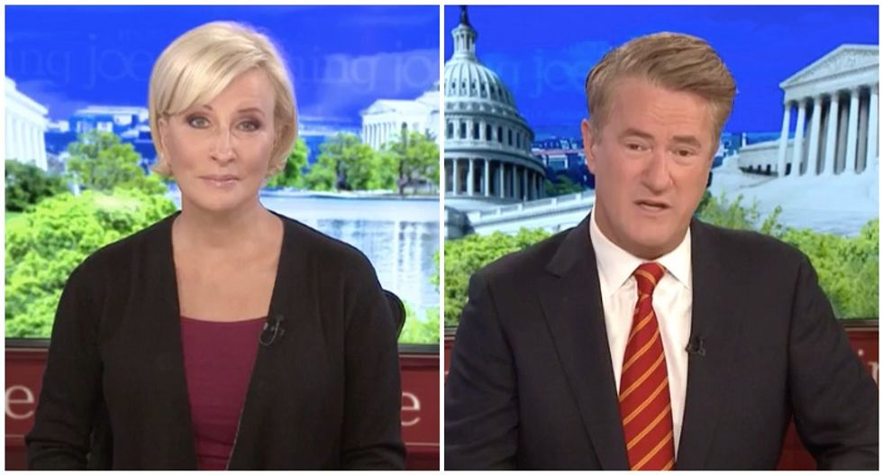 'Why is he lying?' MSNBC's Morning Joe and Mika bust Trump's 'bizarre' claims about Iran meeting
