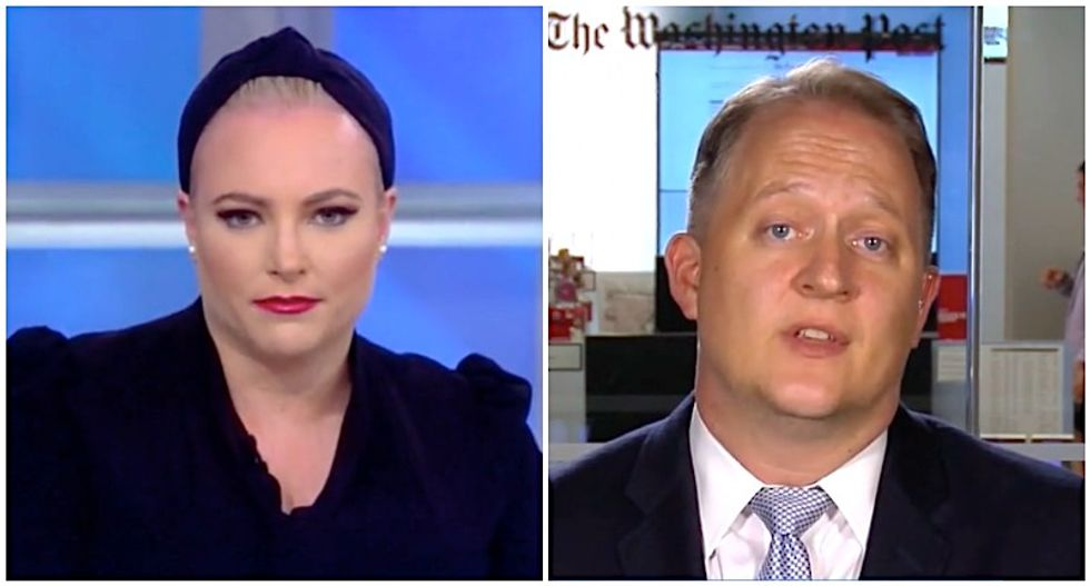 WaPo reporter patiently explains to Meghan McCain why whistleblower claims against Trump are worse than any Obama scandal
