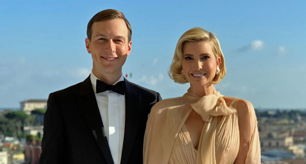 Ivanka and Jared's Friday night news dump was because they have 'tons of conflicts of interest': report