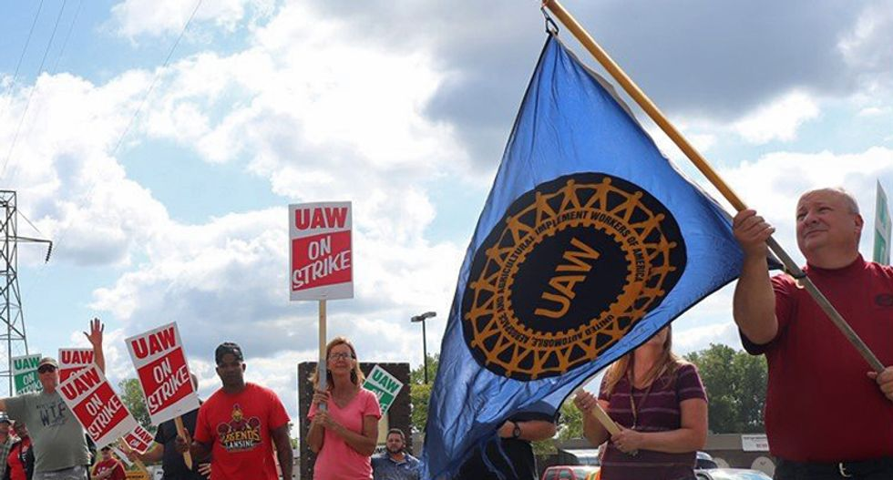 UAW strike 'threatens to upend the economy in Michigan' — and could destroy Trump's re-election: report