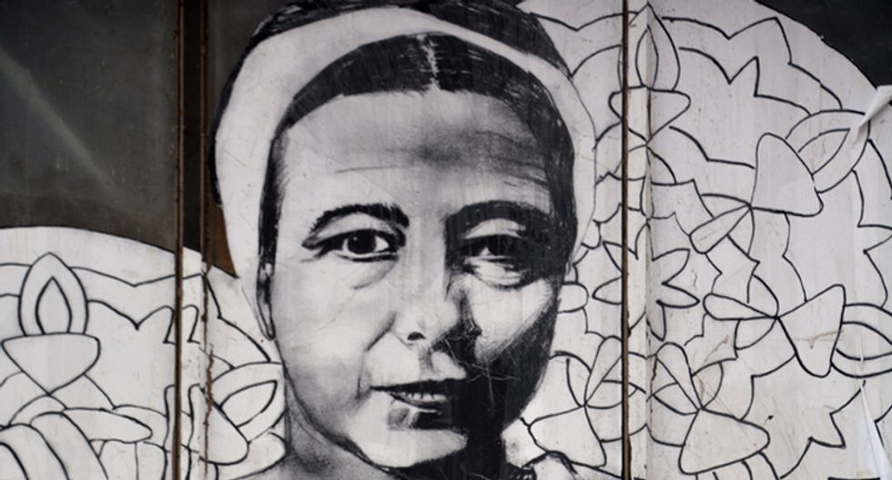This influential feminist philosopher didn't believe in being 'a strong woman' -- here's why