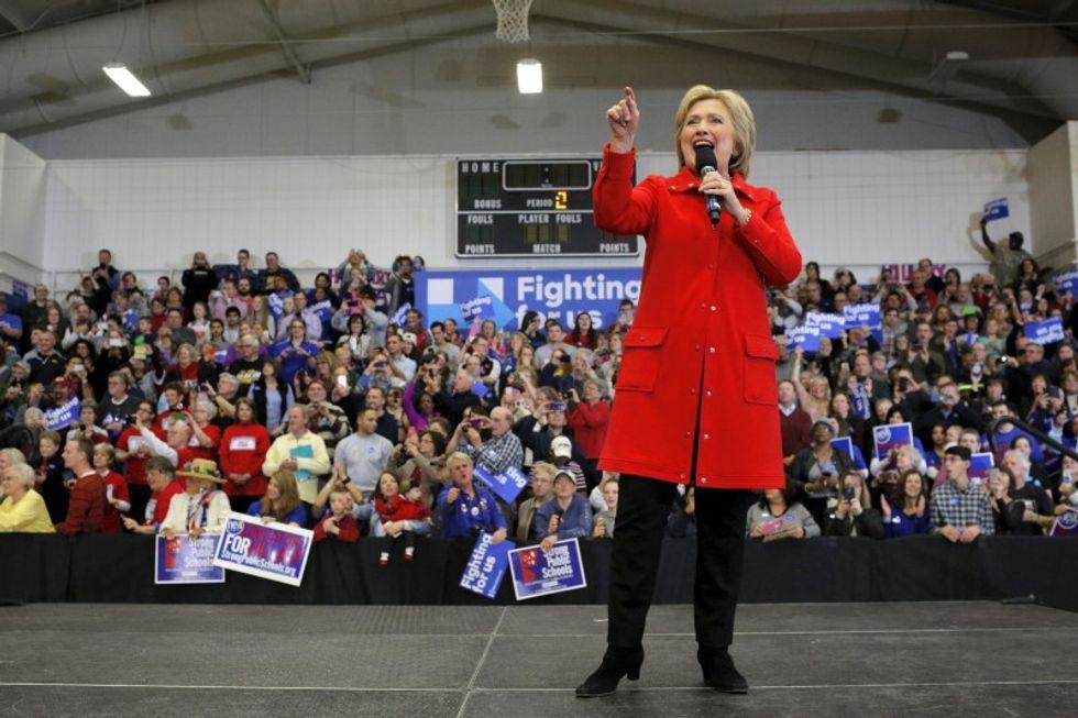 Clinton's 'girl power' push wins over older women, not younger women