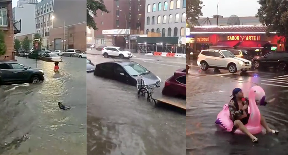 WATCH: 10 videos show massive flooding hitting Brooklyn and New Jersey after torrential downpour