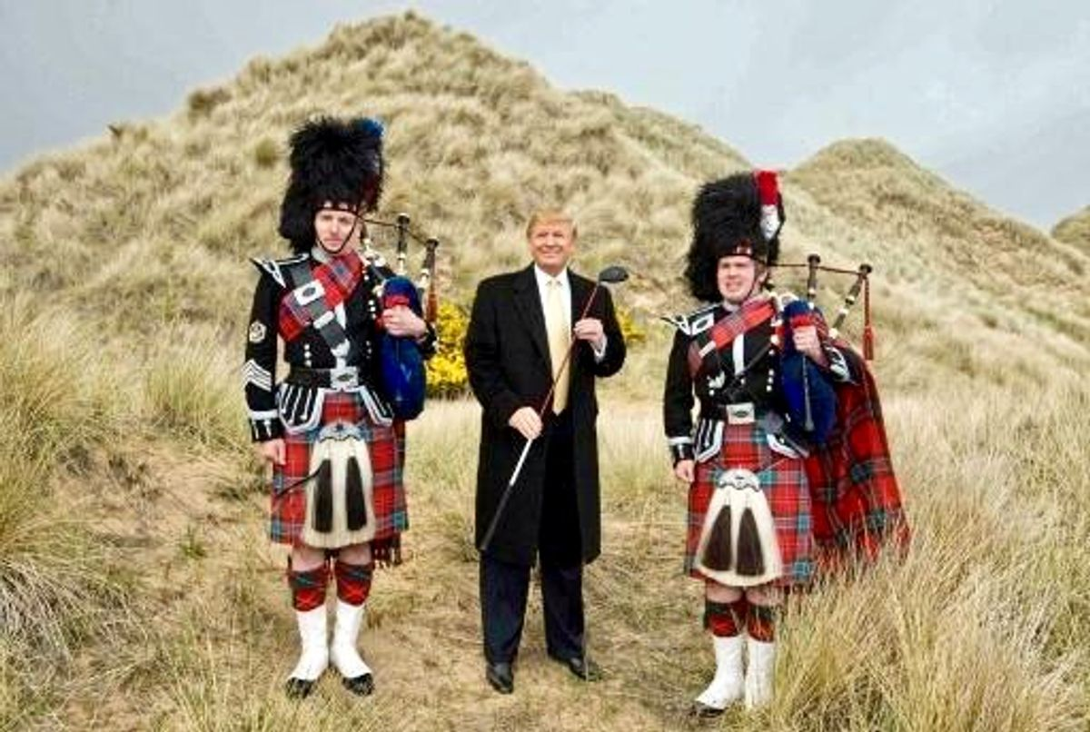 Petition circulates in Scotland to rename airport Trump uses to get to his golf course for Joe Biden