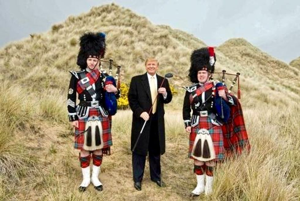 Trump gets approval for second Scottish golf course