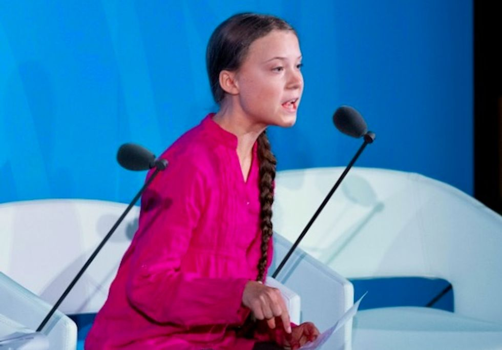 Trump supporters cry bitter tears after Greta Thunberg named Time Person of the Year