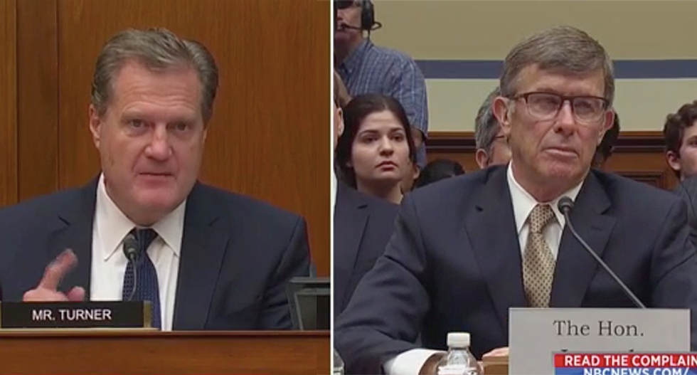'This is not OK': Ohio Republican goes off on Trump at intel hearing over his Ukraine call