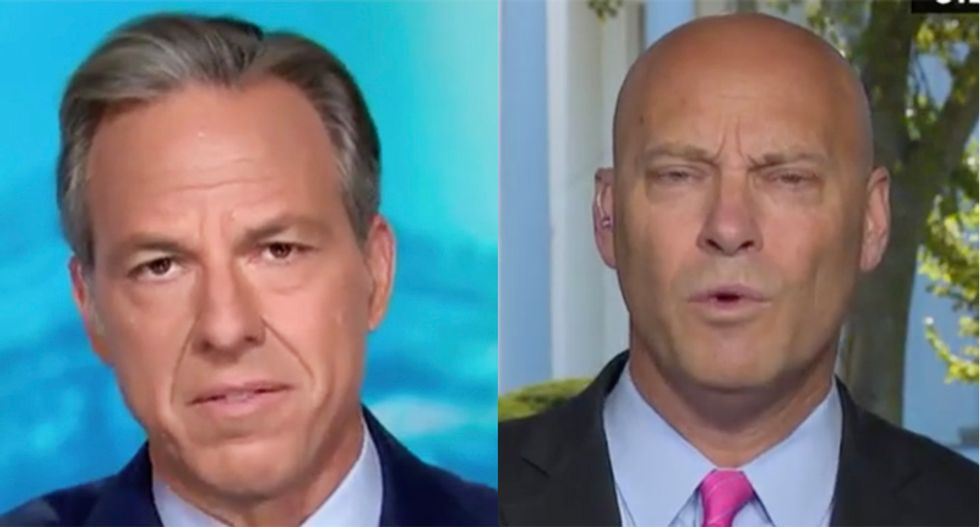 White House official nailed by CNN's Tapper about Trump's taxes after he whines Biden won't release his court picks